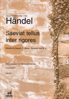 Händel, Georg Friedrich (1685–1759): Saeviat tellus inter rigores HWV 240<br>– Partitur