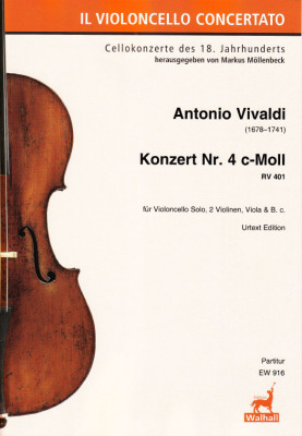 Vivaldi, Antonio (1678–1741): Konzert Nr. 4 c-Moll RV 401