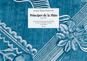 Hotteterre, Jacques (1674-1763): Principes de la Flûte Traversière