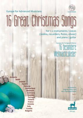 Europa für Fortgeschrittene: 16 besondere Weihnachtslieder<br>–  Band 2