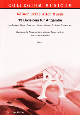 13 Divisions für Altgambe (tenor viol and a ground)