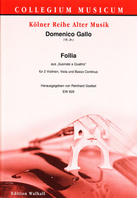 Gallo, Domenico (18. Jh.): Follia