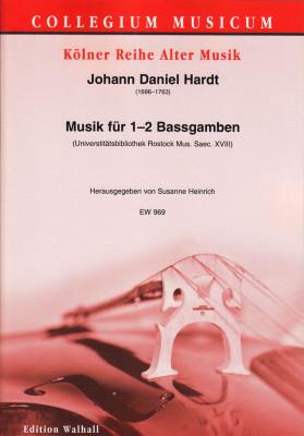 Hardt, Johann Daniel (1696–1763): Musik für 1–2 Bassgamben