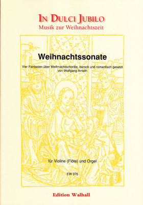 Arneth, Wolfgang (*1968): Weihnachtssonate
