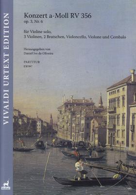 Vivaldi, Antonio (1678–1741): Konzert a-Moll RV 356 op. 3/6