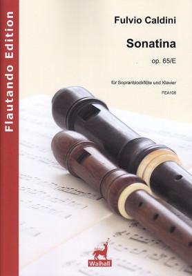 Caldini, Fulvio (*1959):Sonatina op. 65/E