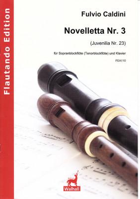 Caldini, Fulvio (*1959): Novelletta Nr. 3 (Juvenilia Nr. 23)