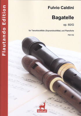 Caldini, Fulvio (*1959): Bagatelle op. 60/G