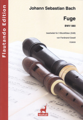 Bach, Johann Sebastian (1685– 1750): Fuge BWV 880