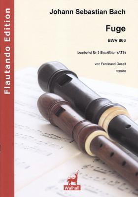 Bach, Johann Sebastian (1685– 1750): Fuga BWV  866