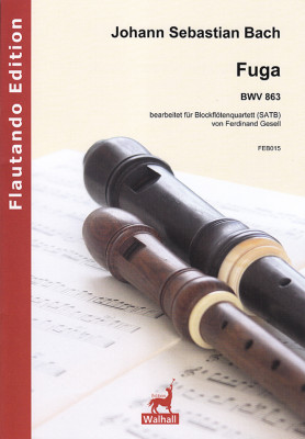 Bach, Johann Sebastian (1685– 1750): Fuga BWV 863