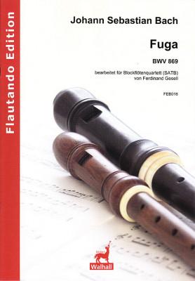 Bach, Johann Sebastian (1685–1750):Fuga BWV 869