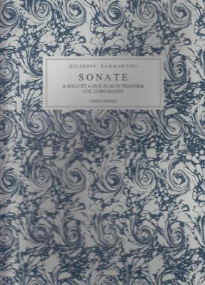 Sammartini, Giuseppe (~1693–1751): Sonate op. 1