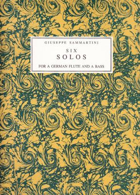 Sammartini, Giuseppe (~1693–1751): Six Solos op. 13