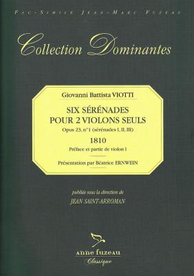 Viotti, Giovanni Battista (1755–1824): Six Sérénades op. 23 No. 1