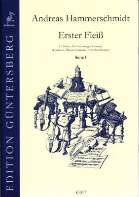 Hammerschmidt, Andreas (1611- 1675): Erster Fleiß<br>- Preface & Suite I in C