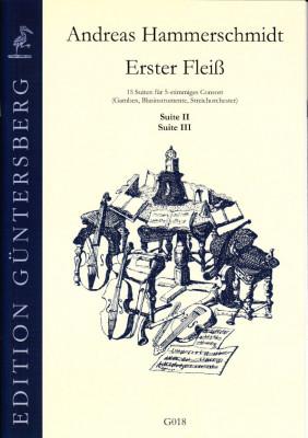 Hammerschmidt, Andreas (1611- 1675): Erster Fleiß<br>- Suiten II & III in d/D, E/e