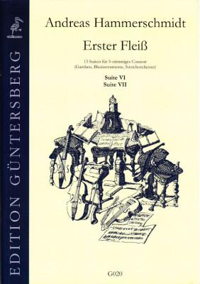 Hammerschmidt, Andreas (1611- 1675): Erster Fleiß<br>- Suiten VI & VII in d/D, F