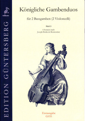 Königliche Gambenduos (Berlin, 18th century): Benda, Boismortier, Corelli, Leclair, Mascitti, Montanari, Senallié, Somis<br>- Volume III: Boismortier