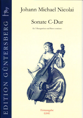 Nicolai, Johann Michael (1629- 1685): Sonate C-Dur