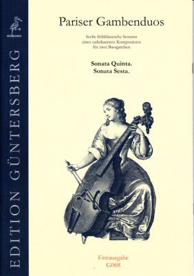 Pariser Gambenduos (1750):<br>- Sonaten V und VI