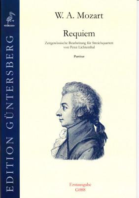 Mozart, Wolfgang Amadeus (1756-1791): Requiem KV 626<br>- Partitur