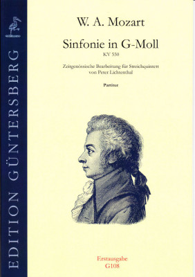 Mozart, Wolfgang Amadeus (1756-1791): Sinfonie in G-Moll KV 550