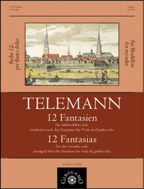 Telemann, Georg Philipp (1681–1767): 12 Fantasien