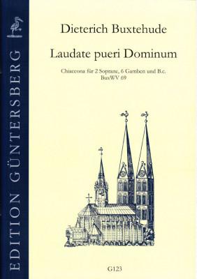Buxtehude, Dieterich (1637-1707): Laudate pueri Dominum
