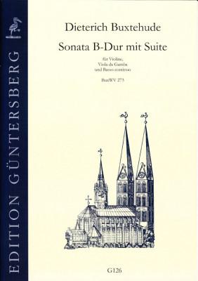 Buxtehude, Dieterich (1637-1707): Sonata B-Dur mit Suite