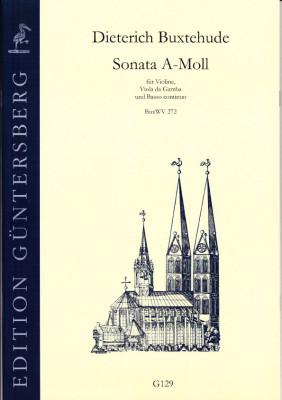 Buxtehude, Dieterich (1637-1707): Sonata A-Moll BuxWV 272