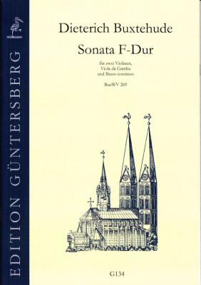 Buxtehude, Dieterich (1637-1707): Drei Sonaten<br>- Sonata F-Dur