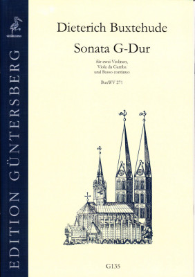Buxtehude, Dieterich (1637-1707): Drei Sonaten<br>- Sonata G-Dur