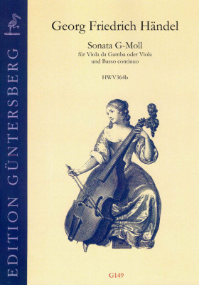 Händel, Georg Friedrich (1685-1759): Sonata g-Moll HWV 364b