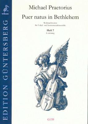 Praetorius, Michael (1572-1621): Puer natus in Bethlehem VII<br> - 7 Sätze, 6-stimmig, Heft 7