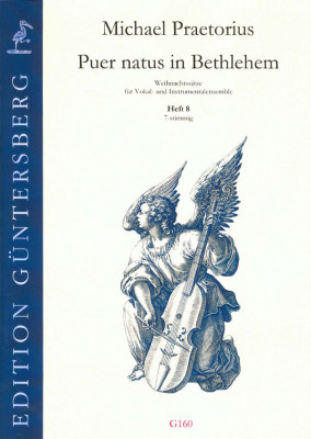 Praetorius, Michael (1572-1621): Puer natus in Bethlehem VIII<br> - 2 Sätze, 7-stimmig, Heft 8