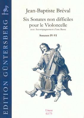 Breval, Jean-Baptiste (1753-1823): Six Sonates non difficiles op. 40<br>- Sonaten IV-VI