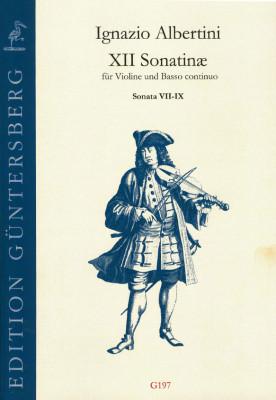 Albertini, Ignazio (~1644-1685): XII Sonatinæ<br>- Sonatine VII-IX