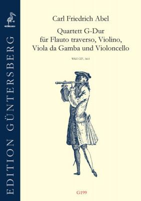 Abel, Carl Friedrich (1732-1787): Quartett G-Dur