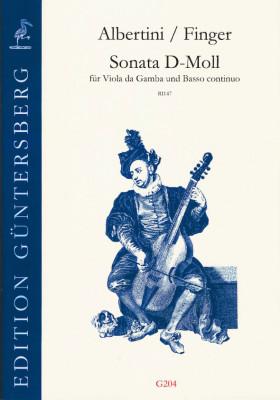 Albertini, Ignazio (~1644-1685)/Finger, Gottfried: Sonata d-Moll