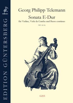 Telemann, Georg Philipp (1681–1767): Sonata E-Dur