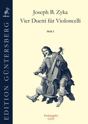 Zyka, Josseph B. (~1720– nach 1800): Vier Duetti<br>- Heft 2: Duetto F-Dur, A-Dur