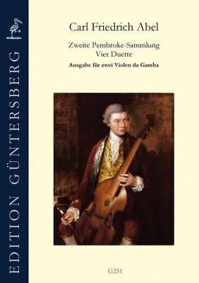 Abel, Carl Friedrich (1732–1787): Die 2. Pembroke-Sammlung<br>– Übertragung für 2 Gamben