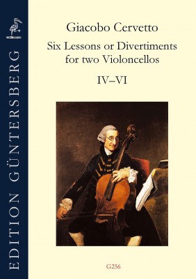 Cervetto, Giacobo (1682–1783): Six Lessons or Divertiments op. 4<br>– Lessons IV–VI