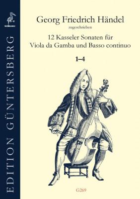 Händel, Georg Friedrich (1685–1759): 12 Kasseler Sonaten<br>- Sonaten 1–4