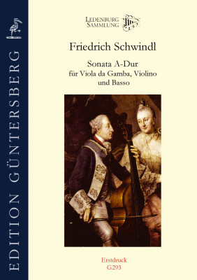 Schwindl, Friedrich (1737–1786): Sonata A-Dur