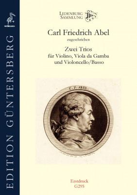 Abel, Carl Friedrich (1723–1787): Zwei Trios
