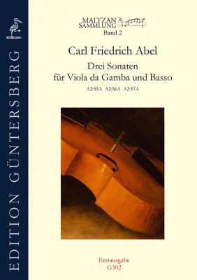 Abel, Carl Friedrich (1723–1787): Drei Sonaten (Maltzan II)