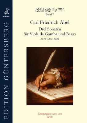 Abel, Carl Friedrich (1723–1787): Drei Sonaten (Maltzan VII)