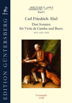 Abel, Carl Friedrich (1723–1787): Drei Sonaten (Maltzan VIII)